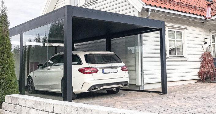 Autoport passer alle typer hus
